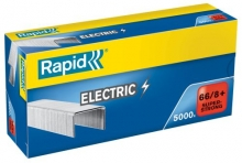 Spojovače kancel. Rapid Eletric Super Strong 66/8, 5.000 ks
