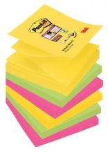 Bloček Z Post-it R330-6SS-RIO, 76x76 mm, 6x90 lístků