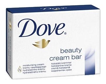 Mýdlo toaletní Dove, 100 g, krémové